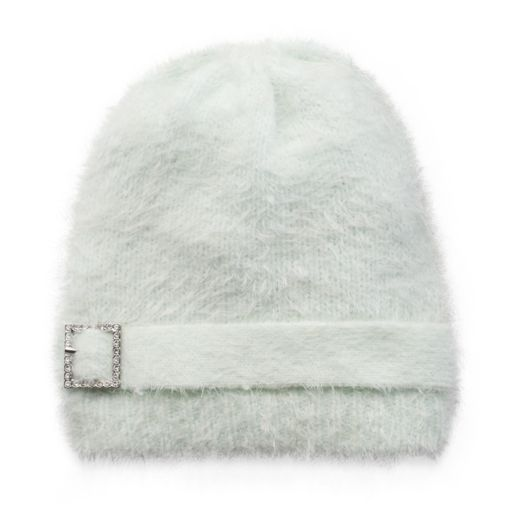 Women's MUK LUKS Buckle Eyelash Beanie