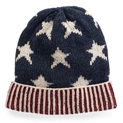 Women's MUK LUKS Stars & Stripes Beanie
