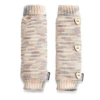 Women's MUK LUKS Romance Marled Plush Arm Warmers