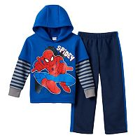 Toddler Boy Marvel Spider-Man Fleece-Lined