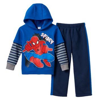 Toddler Boy Marvel Spider-Man Fleece-Lined