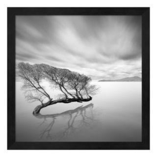 Metaverse Art Water Tree VII Framed Wall Art