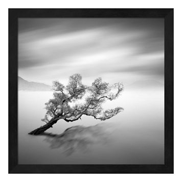 Metaverse Art Water Tree VI Framed Wall Art