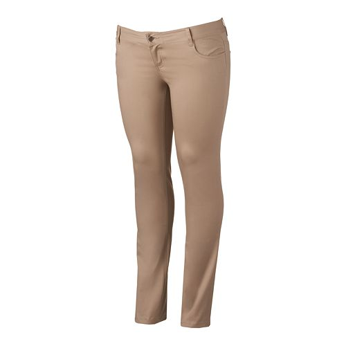 Juniors' Plus Size Lee Uniforms Skinny Pants