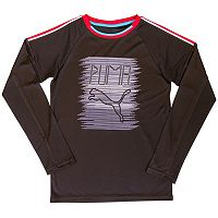 Boys 4-7 PUMA Sketch Logo Tee