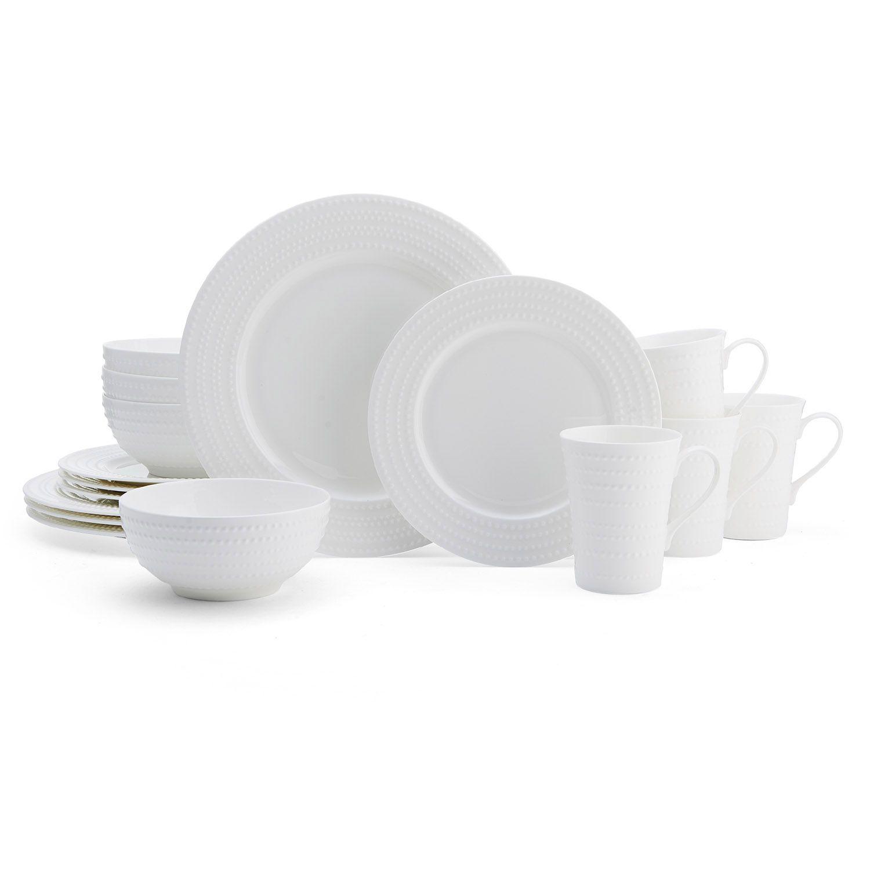 Dinnerware Set  sc 1 st  Kohl\u0027s & White Dinnerware Sets Dinnerware \u0026 Serveware Kitchen \u0026 Dining | Kohl\u0027s