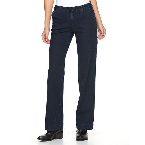 e87007b9e39a0 Women s Apt. 9® Modern Fit Wide-Leg Jeans