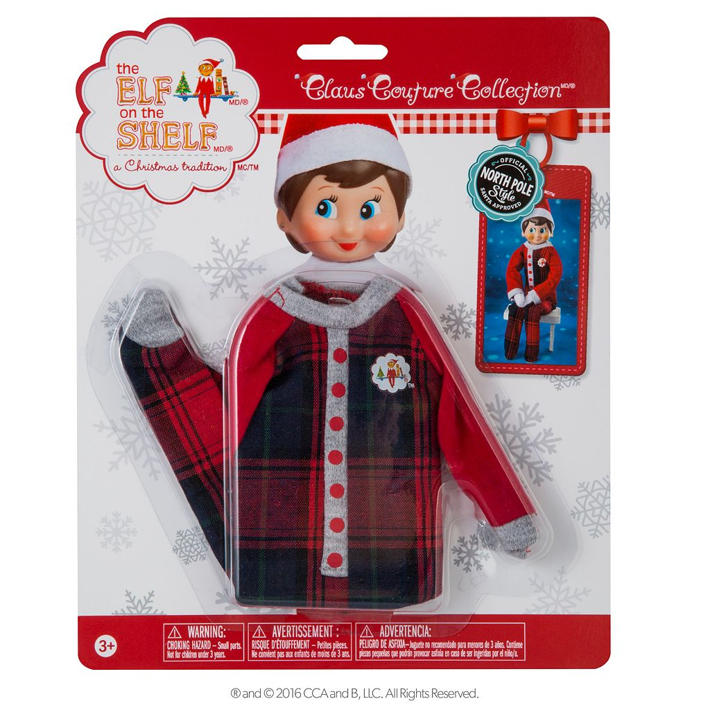 The Elf on the Shelf® Claus Couture Fa-La-La Foot Pajamas