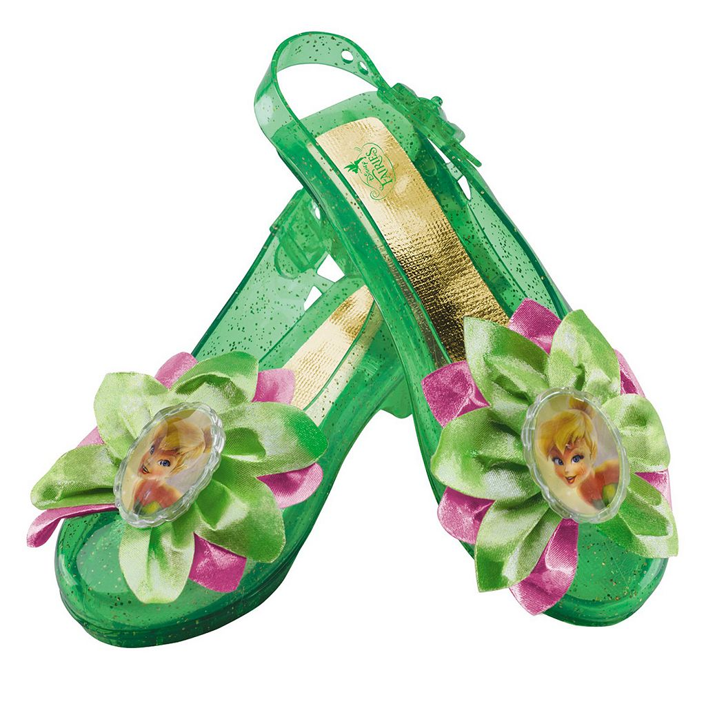 Disney Fairies Tinker Bell Kids Sparkle Costume Shoes