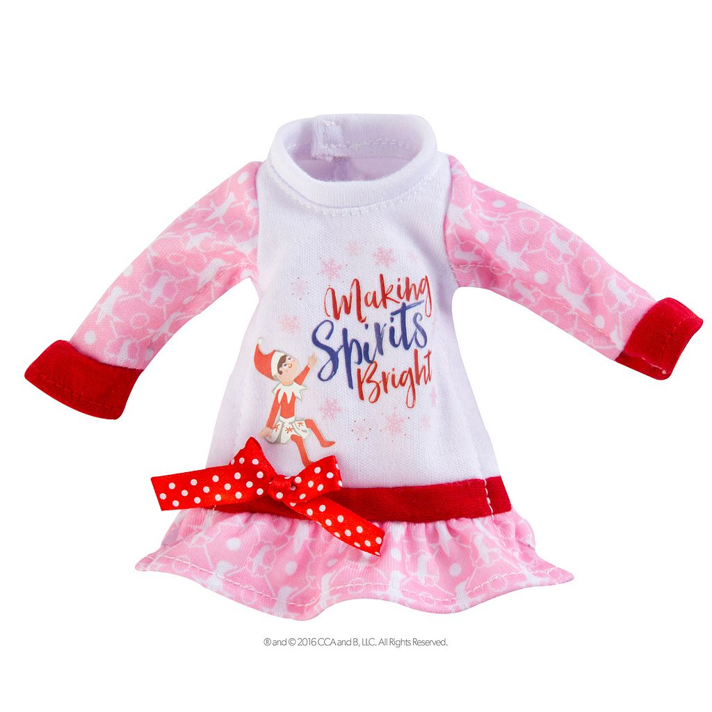 The Elf on the Shelf® Claus Couture Making Spirits Bright Nightgown