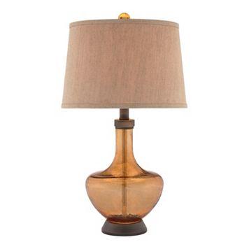 Catalina Amber Table Lamp