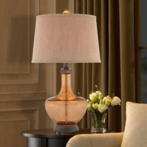 Catalina Amber Table Lamp