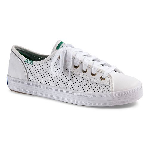 Keds Kickstart Women's Perforated Leather Shoes