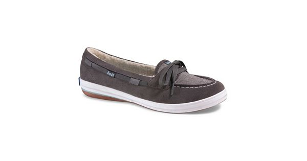 Keds Glimmer Women's Ortholite Suede Boat Shoes