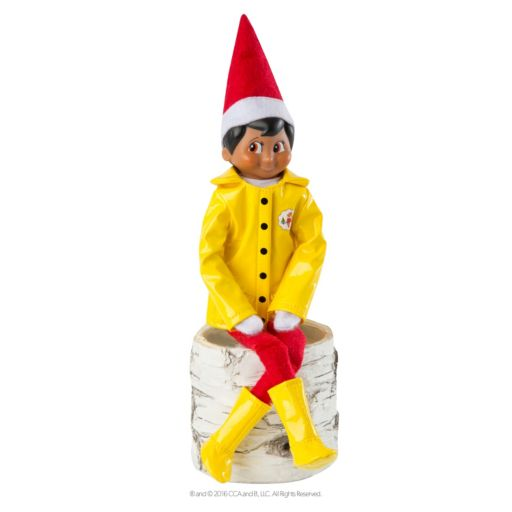 The Elf on the Shelf® Claus Couture Caroling in the Raincoat & Boots Set