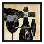 Metaverse Art Wine Selection I Framed Wall Art