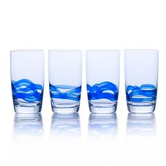 Mikasa Admiral Cobalt 4-pc. Highball Glass Set