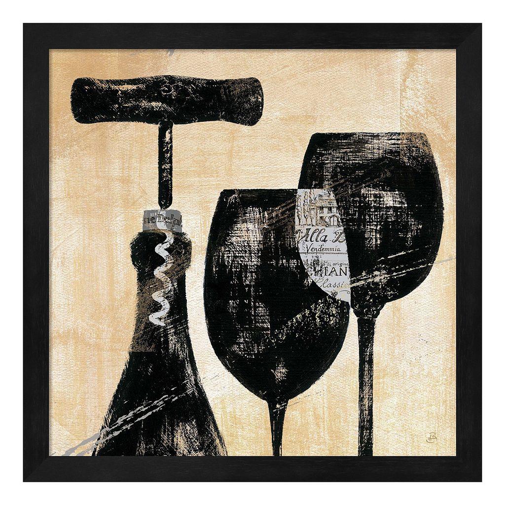 Metaverse Art Wine Selection II Framed Wall Art