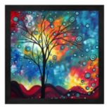 Metaverse Art Greeting the Dawn Framed Wall Art