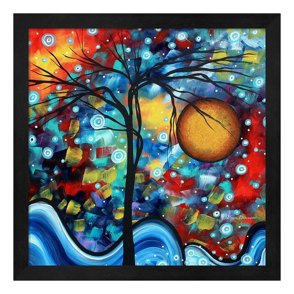 Metaverse Art Sweet Serenity Framed Wall Art