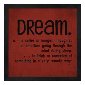 """Metaverse Art """"Dream"""" Framed Wall Art"""