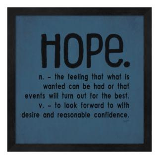"""Metaverse Art """"Hope"""" Framed Wall Art"""