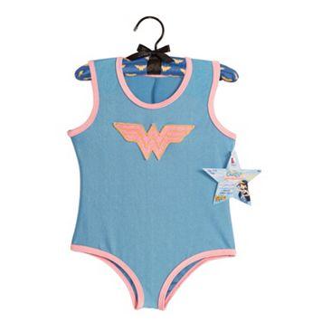 Kids Wonder Woman Costume Leotard