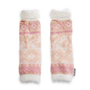 Women's MUK LUKS Romance Eyelash Knit Arm Warmers