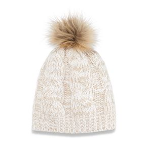 Women's SONOMA Goods for Life? Cable-Knit Pom Pom Hat