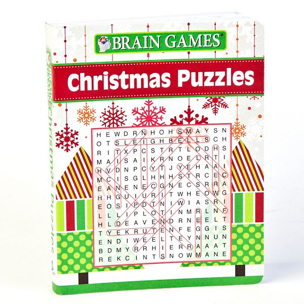 Brain Games Christmas Puzzles