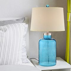 Catalina Turquoise Water Table Lamp