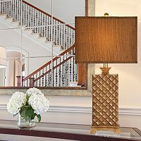 Catalina Lattice Table Lamp