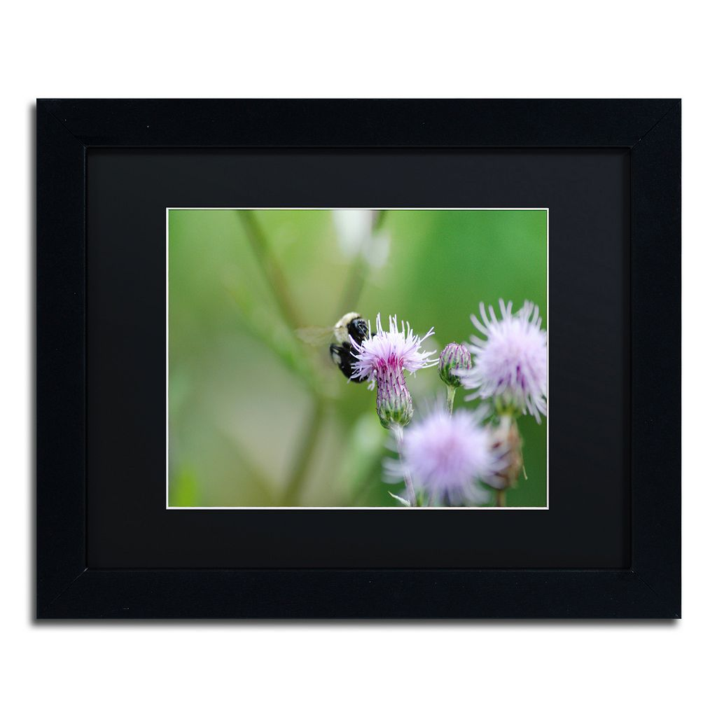 Trademark Fine Art Meant to Be Black Framed Wall Art