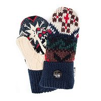 Women's MUK LUKS Lodge Potholder Mittens