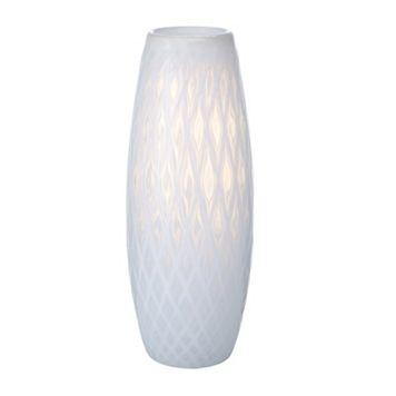 Mikasa Artisan Whisper Diamond 13.5-in. Vase