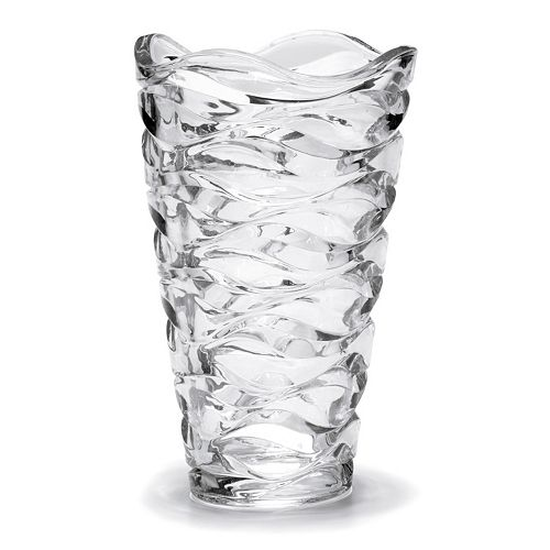 Mikasa Atlantic 10.2-in. Crystal Vase