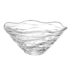 Mikasa Atlantic 11.5-in. Crystal Decorative Bowl