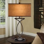 Catalina Curved Table Lamp