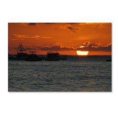 Trademark Fine Art Never Distant Canvas Wall Art