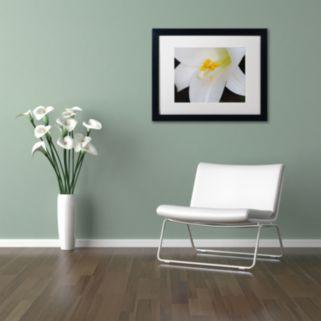 Trademark Fine Art One Word Framed Wall Art