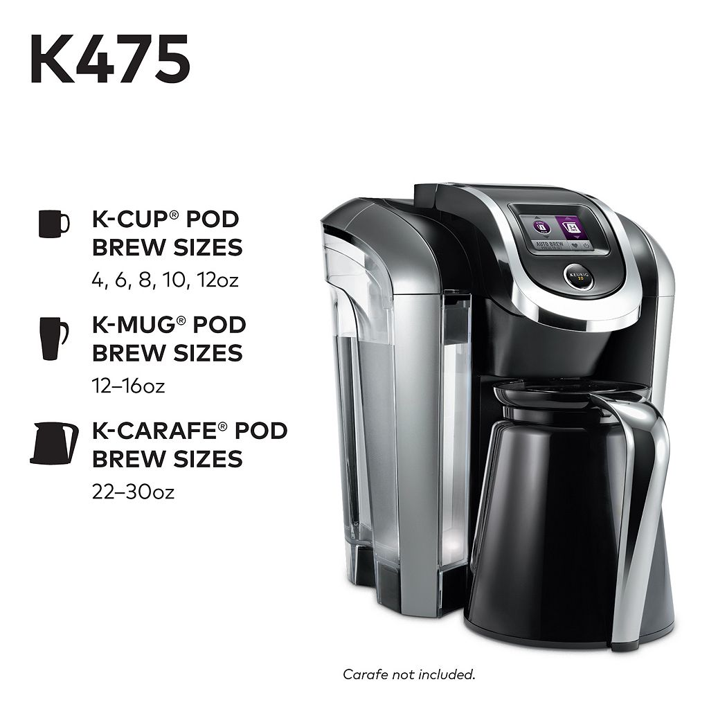 Keurig® K475 Single-Serve K-Cup® Pod Coffee Maker