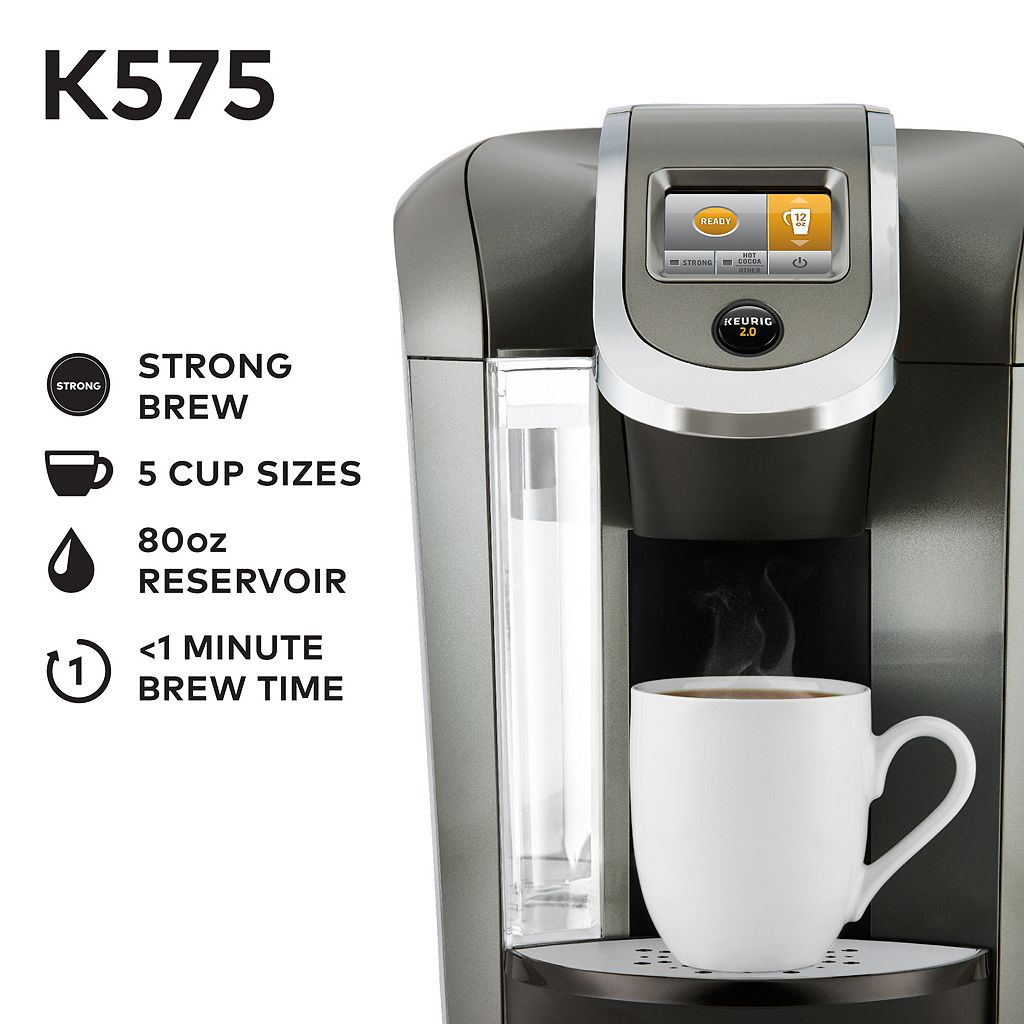 Keurig® K575 Single-Serve K-Cup® Coffee Maker