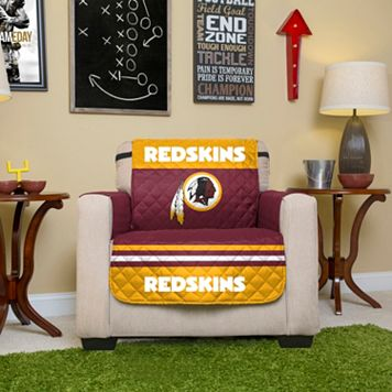 Washington Redskins Quilted Chair Cover