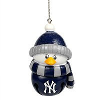 Forever Collectibles New York Yankees Penguin Bell Christmas Ornament