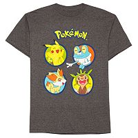 Boys 8-20 Pokemon Circles Tee