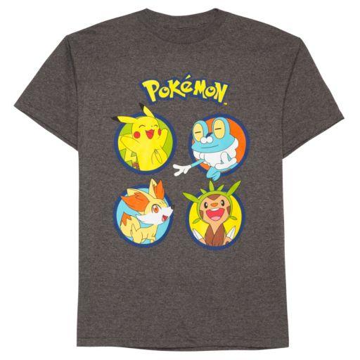 Boys 8-20 Pokemon Circles Tee