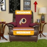 Washington Redskins Quilted Recliner Chair Cover