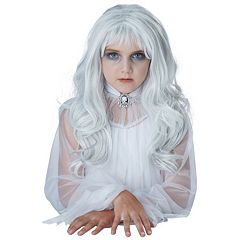 Kids Ghost Child Costume Wig
