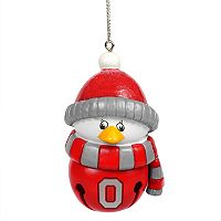 Forever Collectibles Ohio State Buckeyes Penguin Bell Christmas Ornament