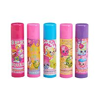 Girls 4-16 Shopkins 5-pc. Mega Lip Balm Set